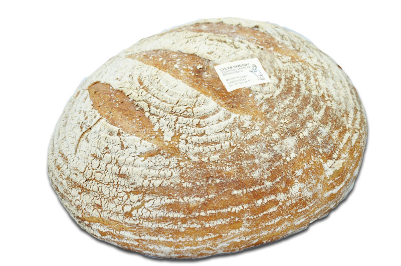 Chleb swojski (2000g, 1000g, 700g).